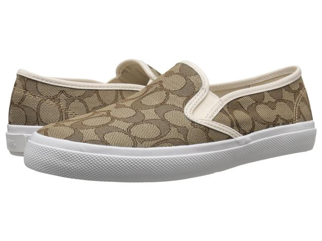 Coach Brown Chrissy Slip On Loafers Flats Size US 5 Regular (M, B) Coach Brown Chrissy Slip On Loafers Flats Size US 5 Regular (M, B) Image 1
