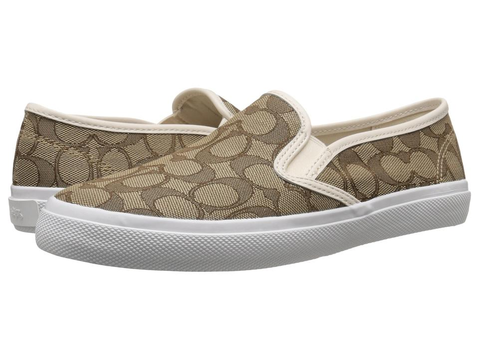 31787394d0 Coach Brown Chrissy Slip On Loafers Flats Size US 5 Regular (M, B ...