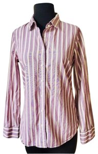 J.Crew Office Fall Date Night Button Down Shirt lavender