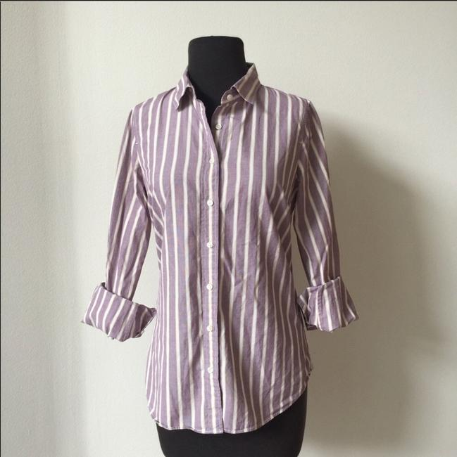 J.Crew Office Fall Date Night Button Down Shirt lavender Image 1
