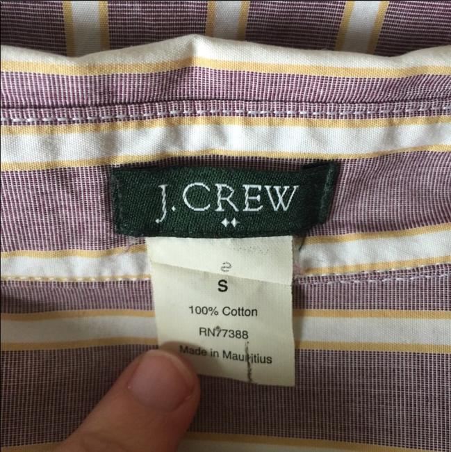J.Crew Office Fall Date Night Button Down Shirt lavender Image 2