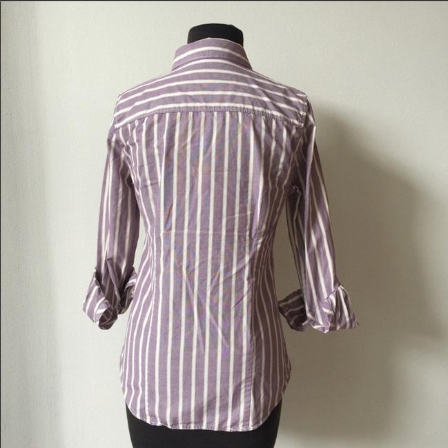 J.Crew Office Fall Date Night Button Down Shirt lavender Image 3