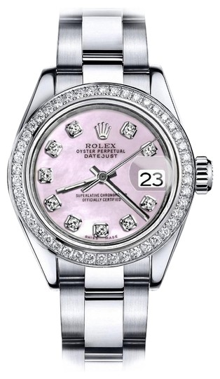 Preload https://img-static.tradesy.com/item/24128427/rolex-stainless-steel-ladies-36mm-datejust-ss-pink-mop-oyster-bracelet-and-diamond-watch-0-1-540-540.jpg