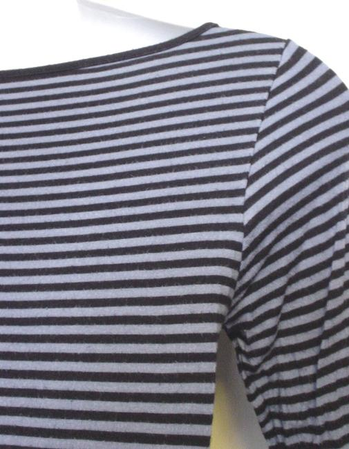 Polo Jeans Co Striped Sleeve T Shirt Navy Blue Image 4