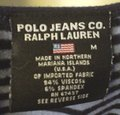 Polo Jeans Co Striped Sleeve T Shirt Navy Blue Image 5