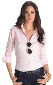 L.L.Bean Wrinkle-resistant Comfortable Stretchy Button Down Shirt Light Pink