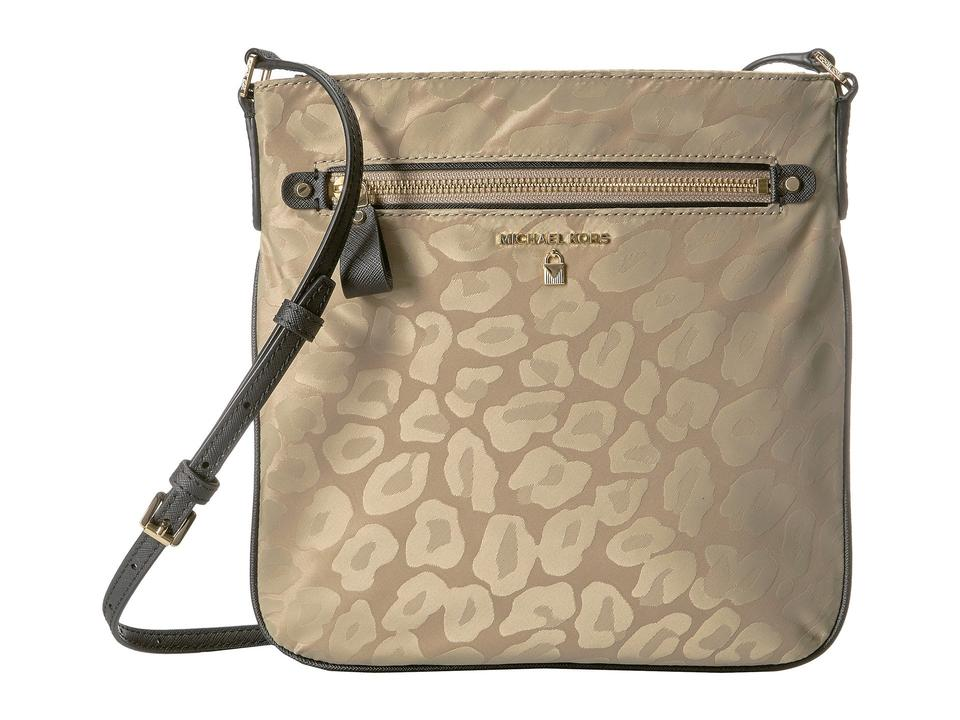 371fb28940b14 Michael Kors Kelsey Beige Nylon Cross Body Bag - Tradesy