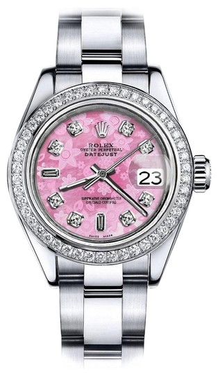 Preload https://img-static.tradesy.com/item/24128506/rolex-stainless-steel-pink-flower-69-36mm-datejust-ss-oyster-bracelet-and-natural-watch-0-1-540-540.jpg