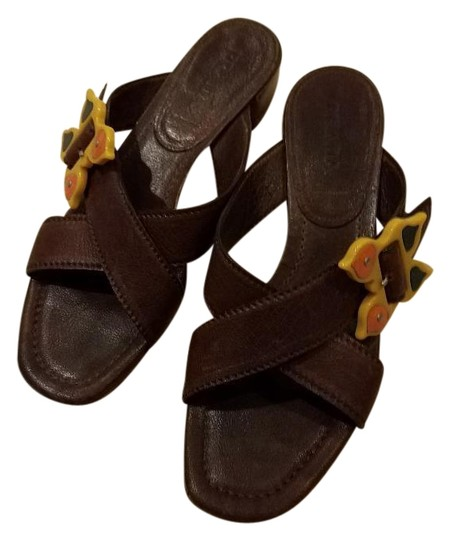 Preload https://img-static.tradesy.com/item/24128508/prada-brown-leather-with-yellow-accent-sandals-size-eu-38-approx-us-8-regular-m-b-0-1-540-540.jpg