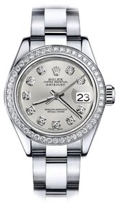 Rolex Rolex Silver Classic 36mm Datejust Stainless Steel Oyster Bracelet