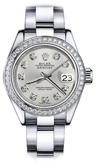 Preload https://img-static.tradesy.com/item/24128563/rolex-stainless-steel-silver-classic-36mm-datejust-oyster-bracelet-watch-0-1-540-540.jpg