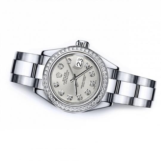 Rolex Rolex Silver Classic 36mm Datejust Stainless Steel Oyster Bracelet Image 2