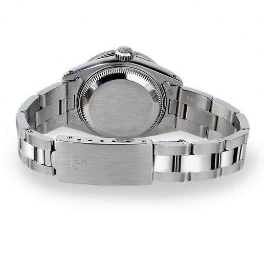 Rolex Rolex Silver Classic 36mm Datejust Stainless Steel Oyster Bracelet Image 3