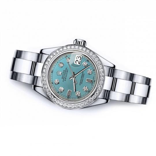 Rolex Rolex Turquoise 8+2 36mm Datejust Stainless Steel Oyster Bracelet Image 2