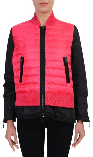"""Item - Pink / Black """"Avril"""" Two Tone Windbreaker with Down Insulated Front Jacket Size 0 (XS)"""