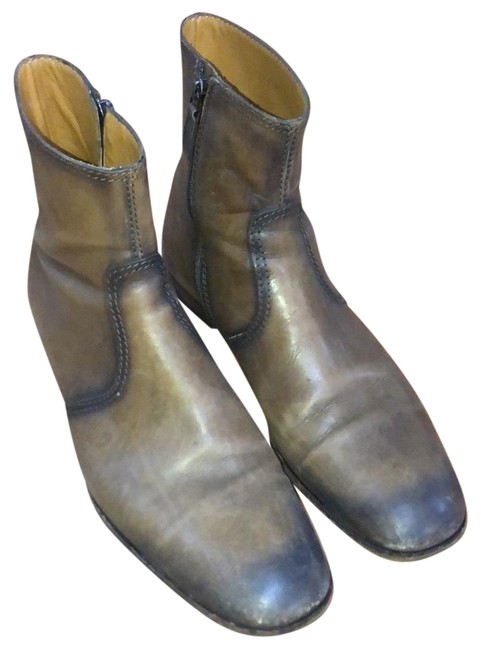 Item - Brown Ankle Boots/Booties Size US 9.5 Regular (M, B)