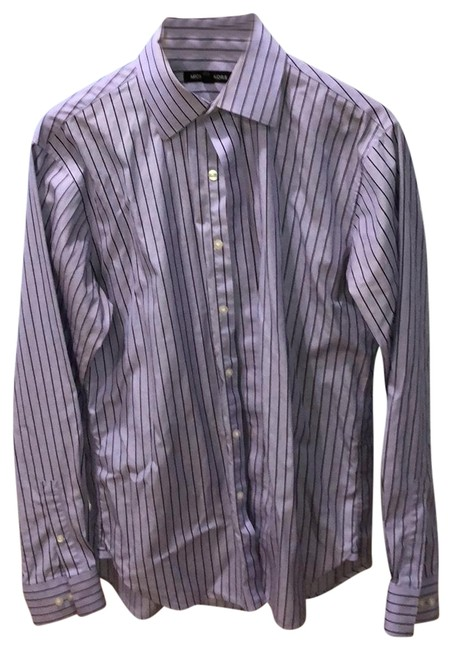 Item - Purple Button-down Top Size OS (one size)