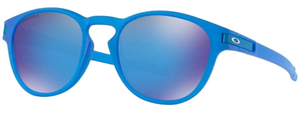 6ff6210e24 Oakley X-ray Blue Round Style Unisex Oo9265-24 Sapphire Prizm Mirrored Lens  Sunglasses