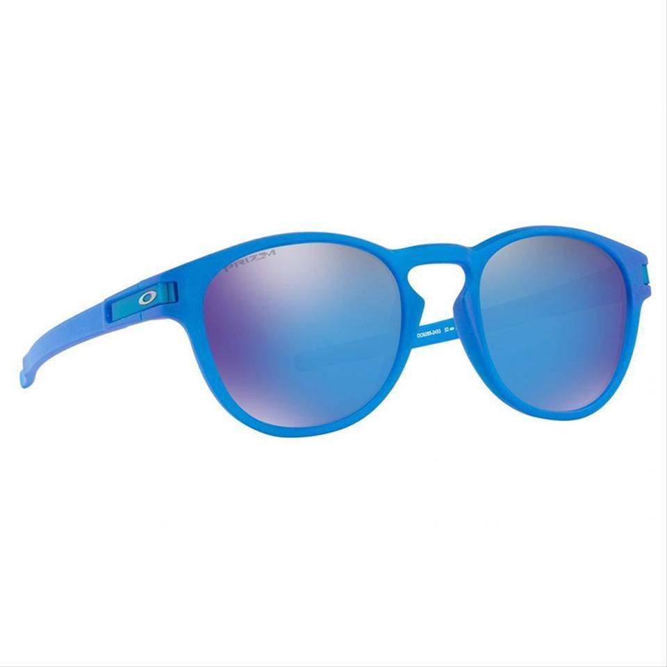 60af6f67b8 Oakley Round Style Unisex OO9265-24 Sapphire Prizm Mirrored lens. 1234