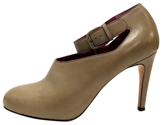 Item - Taupe Strap Leather Air Ankle Euro 37 Boots/Booties Size US 7.5 Regular (M, B)