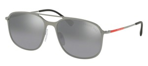 Prada New Polarized Aviator SPS 53T 7CQ2F2 Free 3 Day Shipping