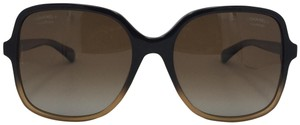 Chanel Butterfly Gradient Brown Polarized 5349 c.1556/s9 Sunglasses