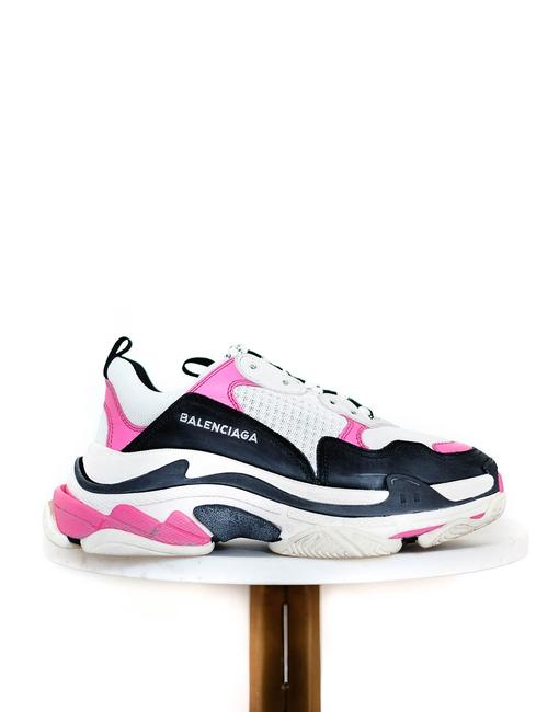 Item - Multicolor Pink & White Triple Sneakers Size EU 38 (Approx. US 8) Regular (M, B)