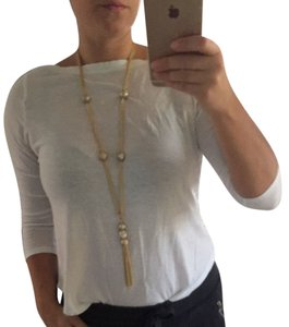 Custom-Made gold plated long necklace
