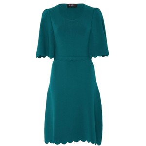 PAULE KA short dress Teal on Tradesy