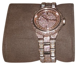 Michael Kors Michael korsRose Gold Crystals Camille Watch $475.00