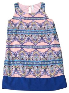 Pink Owl short dress Pinks and Blues on Tradesy