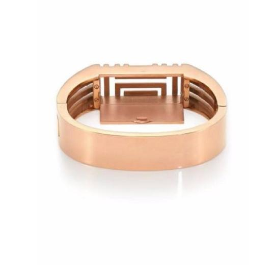 Tory Burch Tory Burch Gold bracelet for Fitbit. Metal Hinge Bangle Bracelet Image 1