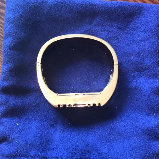 Tory Burch Tory Burch Gold bracelet for Fitbit. Metal Hinge Bangle Bracelet Image 4