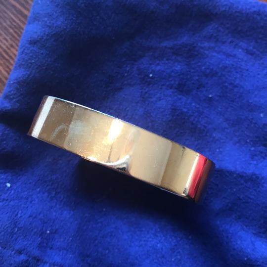 Tory Burch Tory Burch Gold bracelet for Fitbit. Metal Hinge Bangle Bracelet Image 6