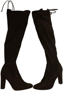 de5c806a042 Unisa Over The Knee Otk Faux Suede Fall black Boots