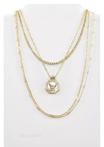 c1b117dc1 Nordstrom TRIO LAYERED STAMPED DISC GOLD NORDSTROM NECKLACE