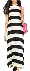 Black and White Maxi Dress by Polo Ralph Lauren