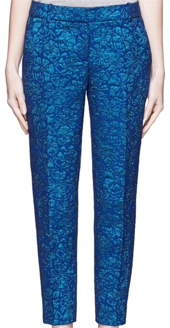 J.Crew Brocade Jacquard Collection Pants Size 0 (XS, 25) J.Crew Brocade Jacquard Collection Pants Size 0 (XS, 25) Image 1