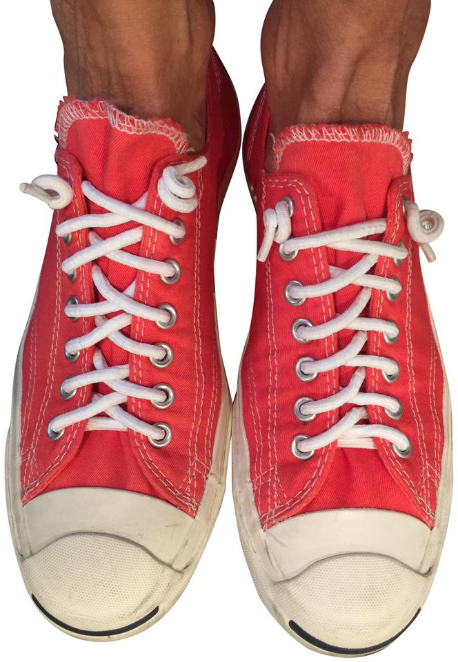 56536f8ca5bb9c Converse Red Jack Purcell Sneakers Size US 9.5 Regular (M