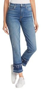 Hudson Straight Leg Jeans-Distressed