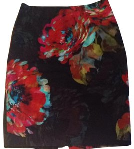 Trina Turk Skirt Multi-color Floral