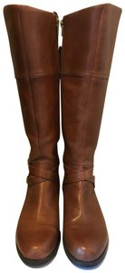 Audrey Brooke Leather Brown Boots