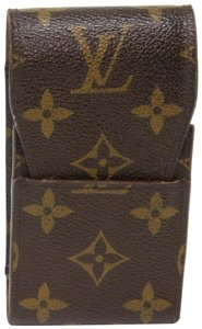 Louis Vuitton Classic LV Coated Canvas Mobile Phone Case