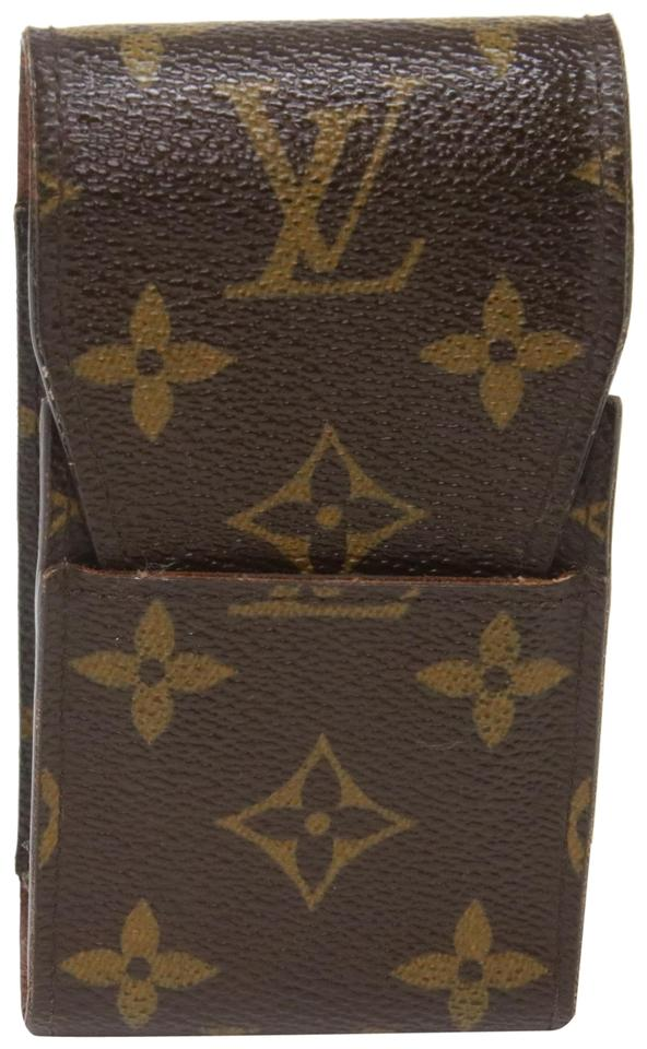 2aa6b1f2ad4e Louis Vuitton Monogram Canvas Classic Lv Coated Mobile Phone Case ...