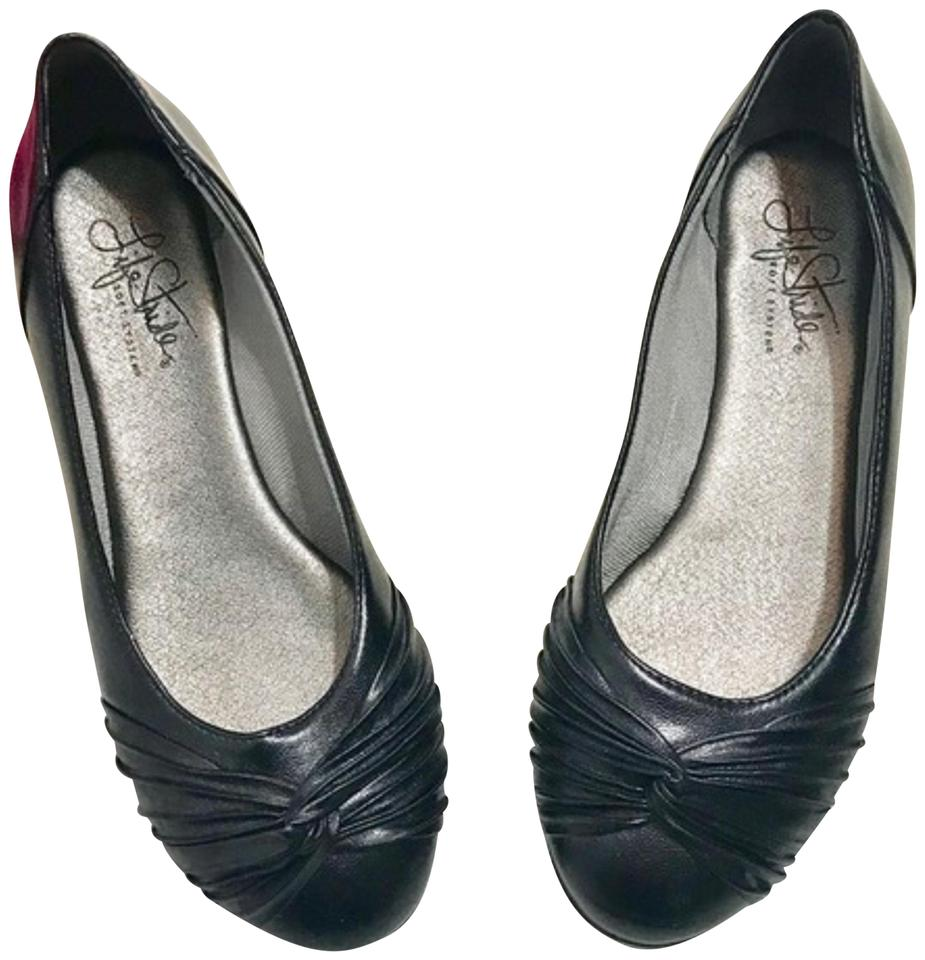 3df42b209b8c LifeStride Black Soft System Comfort Support 5.5m Flats Size US 5.5 ...