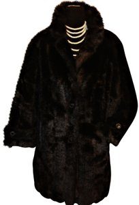 J. PERCY FOR MARVIN RICHARDS Faux Fur Coat