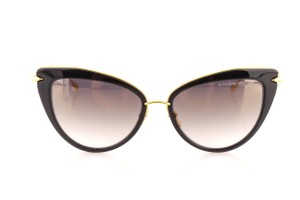 Dita Dita Heartbreaker Black Gold 22027-A-BLK-GLD-56 Cat Eye Sunglasses