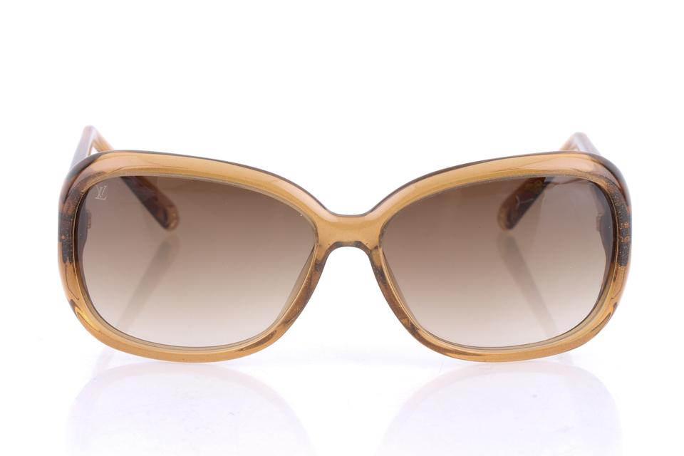 0accdc4b0be Louis Vuitton Brown Obsession Gm Z0460w 9gh Glitter Honey Sunglasses ...