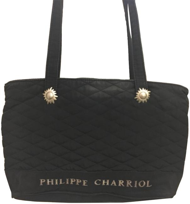 Charriol Philippe Quilted Fabric Tote Charriol Philippe Quilted Fabric Tote Image 1