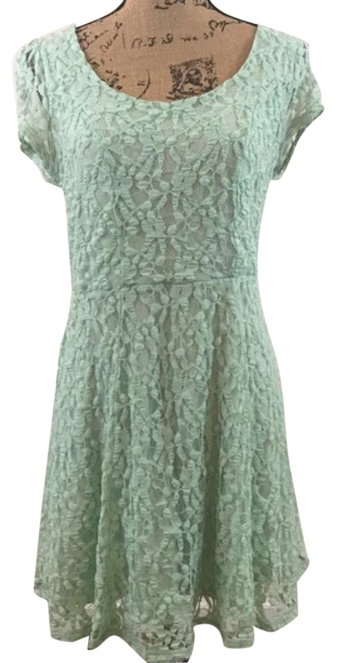 858093f34d1b Kimchi Blue New Urban Outfitters Mint Casual Dress. Size: 12 (L) Length:  Short ...